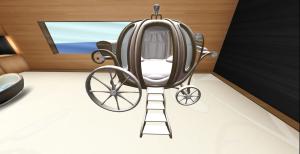 Carriage portion of Princess Carriage Prop - 100l @ Glitterati's sale